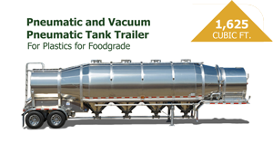 1625 Cubic Foot Pneumatic Tank Trailer