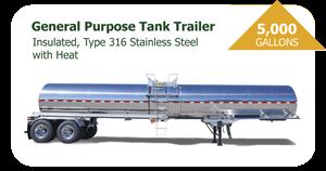 5000 Gal General Purpose Tank Trailer