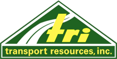 Rubber-lined Tank Trailer Side with Tractor | Transport Resources, Inc.