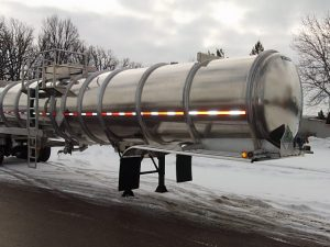 Aluminum Tank Trailer Side