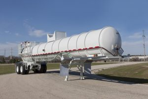 Rubber Lined Tank Trailer