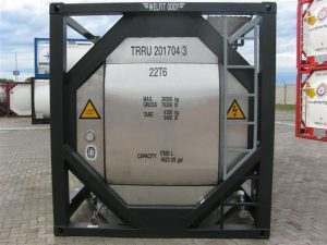 T-20 ISO Tank Container Front